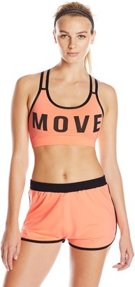 MinkPink Women's Move Crop Top
