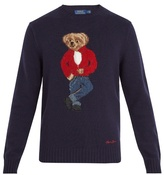 Polo Ralph Lauren Teddy Bear-intarsia Wool Sweater