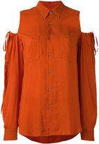 A.F.Vandevorst cold shoulder blouse - women - Viscose - 34