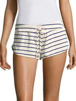 Eberjey Striped Drawstring Shorts