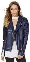 F&F Faux Leather Biker Jacket, Women's