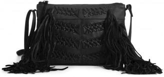 Day & Mood Fenya Fringe Leather Crossbody Bag