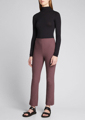 Vince Long-Sleeve Mock-Neck Bodysuit