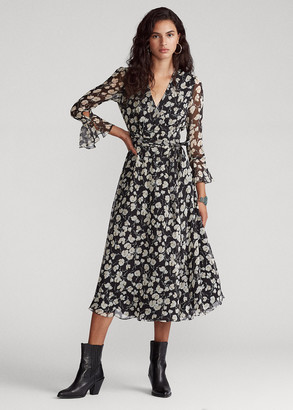 Ralph Lauren Floral Wrap Dress