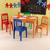 Kid Kraft Euro Table and 4-Chairs - Multicolor