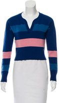 Chanel Cropped Cashmere Sweater