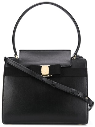 Salvatore Ferragamo Bow-Embellished Tote Bag