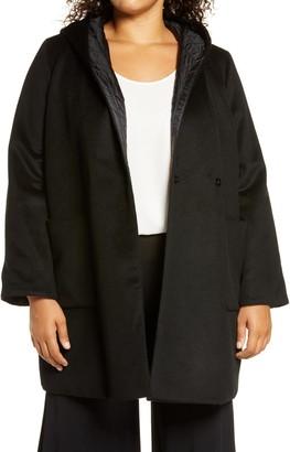 Marina Rinaldi Tallero Reversible Hooded Coat