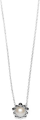 Anzie Dew Drop Pearl Pendant Necklace