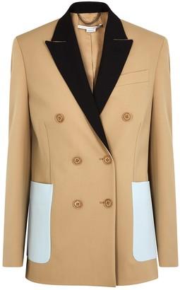 Stella McCartney Alena camel wool-blend jacket