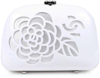 Chanel Camellia Acrylic Minaudiere Bag