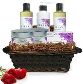 Pure Energy Apothecary Ultimate Body Lavender Gift Set with Basket