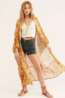 Free People Spell And The Gypsy Collective Seashell Maxi Robe by Spell and the Gypsy Collective at