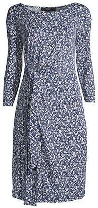 Max Mara Acume Knit Jersey Sheath Dress