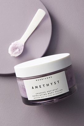 Herbivore Botanicals Amethyst Crush Exfoliating Body Polish By in Purple Size ALL
