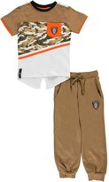 "Enyce Little Boys' Toddler ""Angled Camo"" 2-Piece Outfit"