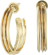 Eddie Borgo Trace Hoops Earrings