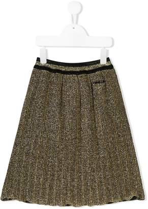 Gaelle Paris Kids lurex skirt