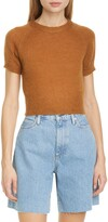 Simon Miller Flinder Short Sleeve Crop Sweater