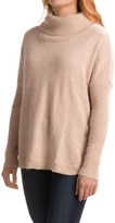 dylan Ribbed Trim Turtleneck Sweater (For Women)