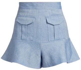 Alexis Ruta Ruffle Cuff Shorts