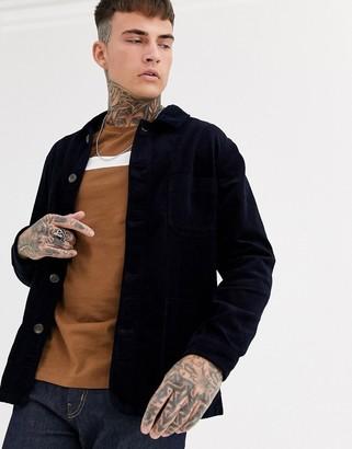Celio worker jacket in navy