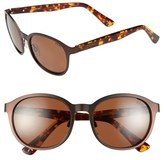 Zeal Optics '6th Street' 52mm Polarized Plant Based Retro Sunglasses