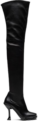 Prada Square Toe Thigh-High Boots