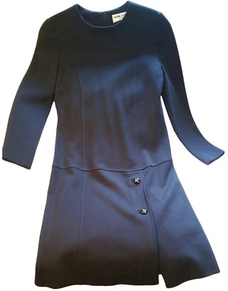 Pierre Cardin Black Wool Dress for Women