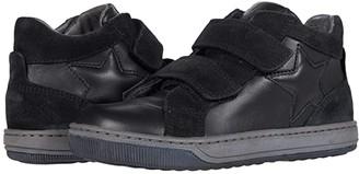 Naturino Clay Star VL AW20 (Little Kid/Big Kid) (Black) Boy's Shoes