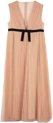 RED Valentino Pleated Tulle Dress