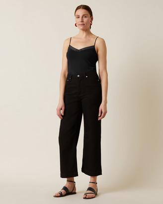 Jigsaw Linear Lace Vest
