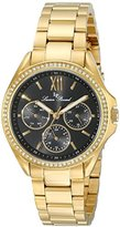 Lucien Piccard Women's LP-10052-YG-11 Eclipse Analog Display Japanese Quartz Gold Watch
