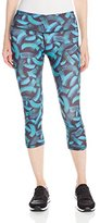 Head Women's Tachisme-Printed Capri Legging