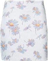 Rodarte floral print skirt - women - Polyester/Spandex/Elastane - 4