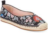 Avec Les Filles Gisella Embroidered Espadrille Flats Women's Shoes