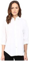 Kate Spade Relaxed Poplin Shirt Women's Long Sleeve Button Up