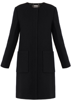 Raoul Dafne Black Wool Coat