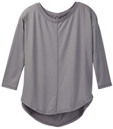 Poof Boatneck Hi-Lo Top (Big Girls)