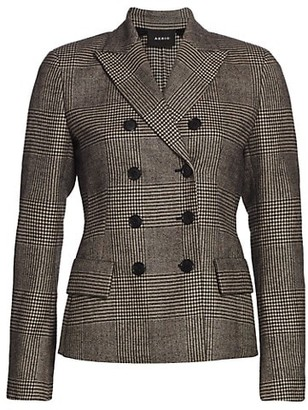 Akris Glorie Wool Double-Face Wool Jacket