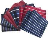 TopTie Men's Pocket Square Fashion Handkerchief Towel, 5 pc Mixed Pattern
