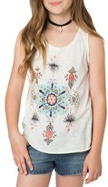 O'Neill Girl's Frill Graphic Tank
