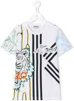Kenzo printed T-shirt - kids - Cotton - 4 yrs