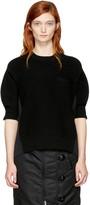 Sacai Black Hybrid Shirt Pullover