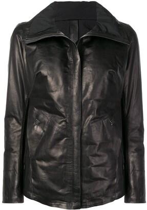 Isaac Sellam Experience padded biker jacket