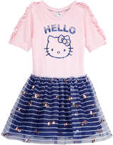 Hello Kitty Printed Mesh Tutu Dress, Toddler Girls