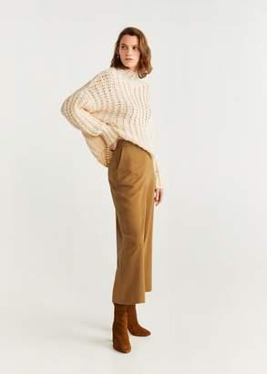 MANGO Soft culottes trousers