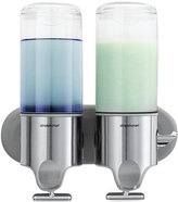 Simplehuman Bath Accessories, Twin Shampoo and Soap Dispenser