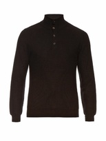 Brioni High-neck Cashmere Sweater