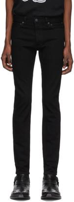 TAKAHIROMIYASHITA TheSoloist. Black Slim Tapered Jeans
